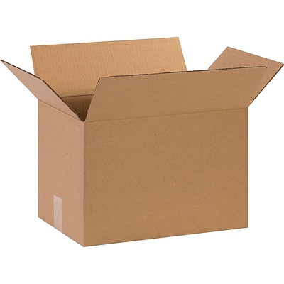 15 x 10 x 10 Shipping Boxes, 32 ECT, Brown, 25/Bundle (151010)