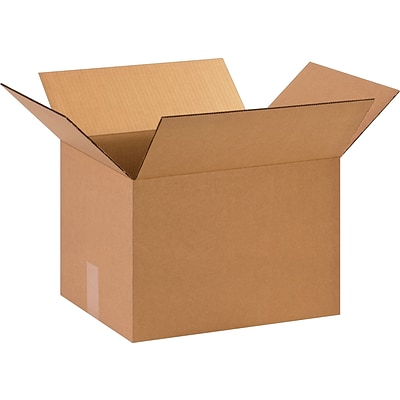 15 x 12 x 10 Shipping Boxes, 32 ECT, Brown, 25/Bundle (151210)
