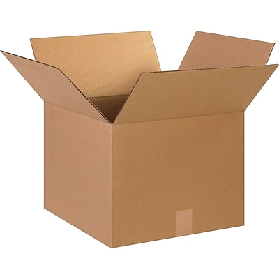 15 x 11 x 11 Shipping Boxes, 32 ECT, Brown, 25/Bundle (151111)