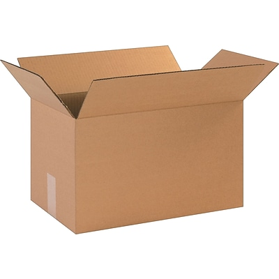 17 x 10 x 10 Shipping Boxes, 32 ECT, Brown, 25/Bundle (171010)