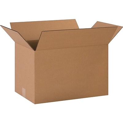 8 x 8 x 4 Heavy Duty Shipping Boxes, 32 ECT, Kraft, 25/Pack (BS080804)