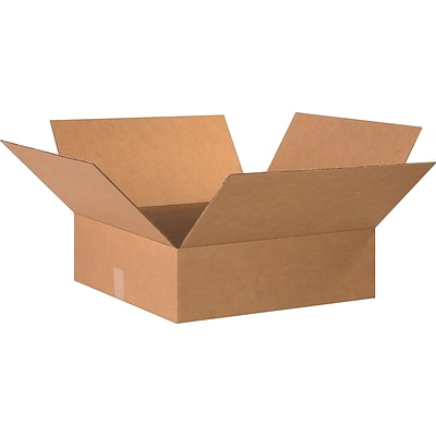 20 x 20 x 6 Shipping Boxes, 32 ECT, Brown, 15/Bundle (20206)