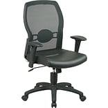 Office Star Screen/Leather Task Chair