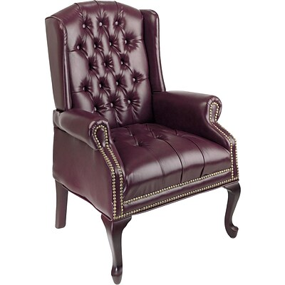 Office Star & trade, Traditional Queen Ann High-Back Guest Chair