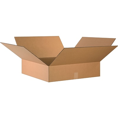 24(L) x 24(W) x 6(H) Shipping Boxes, 32 ECT, Brown, 10/Bundle (24246)