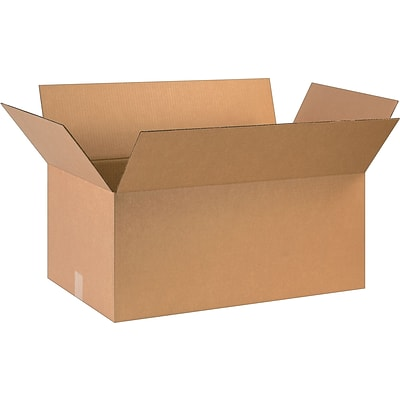28 x 16 x 12 Shipping Boxes, 32 ECT, Brown, 10/Bundle (281612)