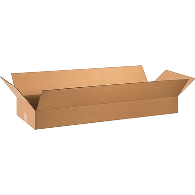 36 x 12 x 4 Shipping Boxes, 32 ECT, Brown, 20/Bundle (36124)