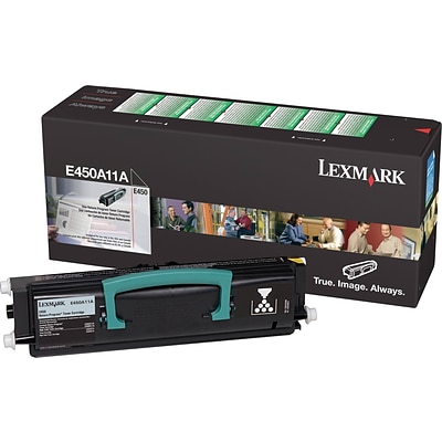 Lexmark E450A11A Black Toner Cartridge