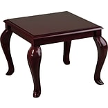 Office Star & trade, Traditional Queen Ann Reception Area End Table