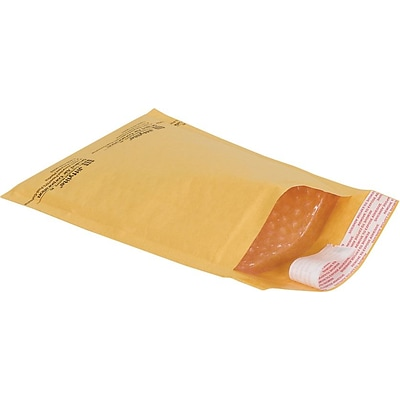 6 x 10 Bubble Cushioned Mailers in Bulk, #0, 150/Case