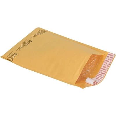 Bubble Cushioned Mailers in Bulk, #1, 7-1/8 x 11, 100/Case