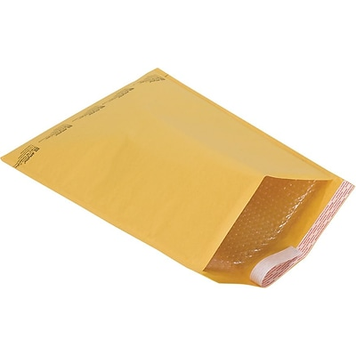 Bubble Roll Cushioned Mailers in Bulk, #7, 14-1/2 x 19, 50/Case