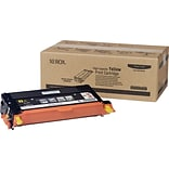 Xerox Phaser 6180/6180MFP Yellow Toner Cartridge (113R00725); High Yield