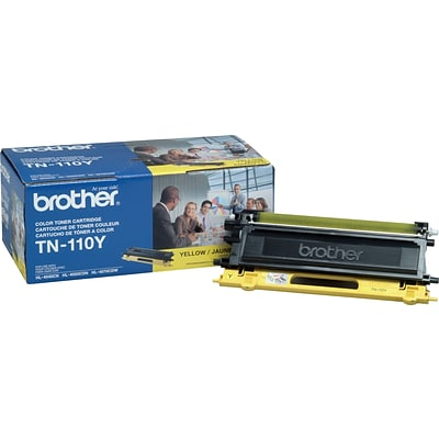 Brother Genuine TN110Y Yellow Original Laser Toner Cartridge