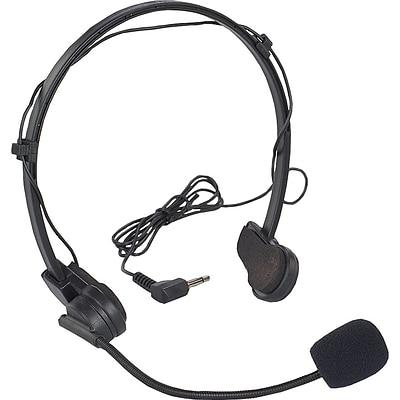 AmpliVox® Condensor Headset Microphone; with 40 cord and 12 extension