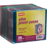 Slim Jewel Case, 5 mm, 25/Pack