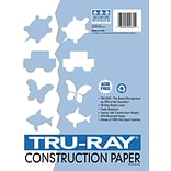 Tru-Ray 12x18 White Art Construction Paper
