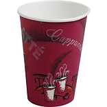 Solo® Paper Hot Cups Perfect Pak® 12 oz., Bistro® Design, 300/Carton (OF12BI-0041)