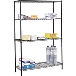 Safco® 48W Commercial Wire Shelving Kit