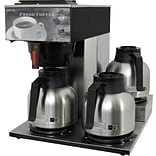3-Station Coffee Brewer w/Heat Pump