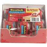 Scotch® Heavy-Duty Shipping Tape with Dispensers; 2 x 22 Yd., 6 Rolls