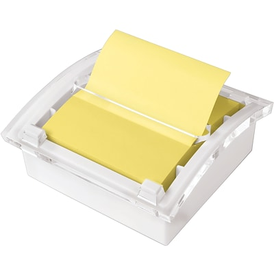 Post-it® Pop-Up Note Dispenser with White Base, 3 x 3, Designer Series, Each (DS330-WH)