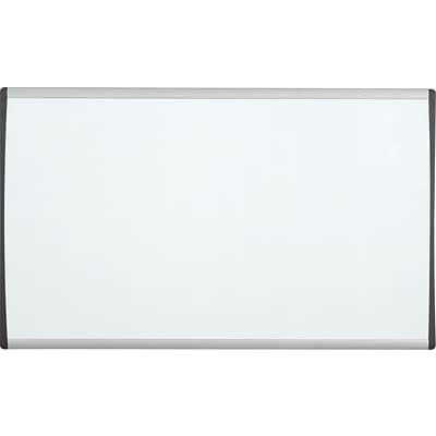 Quartet® Arc™ Cubicle Whiteboard, 24 x 14, Magnetic, Aluminum Frame (ARC2414)