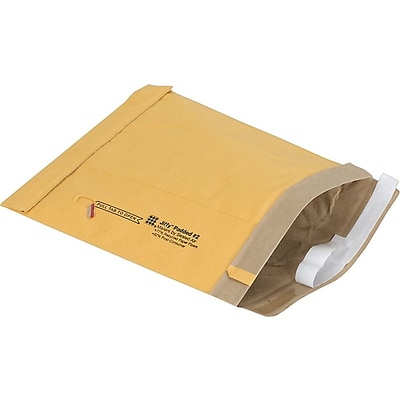 Self-Seal 25 Pack Padded Mailers; #2, 8-1/2x12
