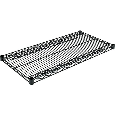 Alera™ Extra Industrial Wire Shelves, 36Wx18D, Black