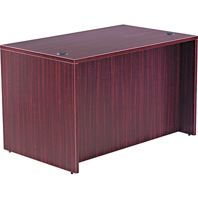 Alera™ Valencia Series Executive Suites in Mahogany, Straight Front Desk Shells, 48W