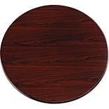 HON® 10700 42Dia. Mahogany Round Table Top