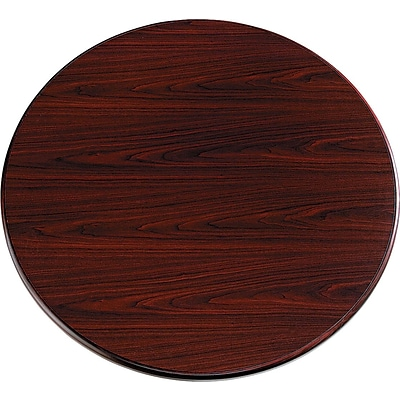 HON® 10700 Series Office Suite in Mahogany, 42 Round Table Top
