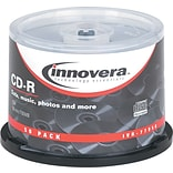 Innovera® CD-R 52x 700MB 50-Pack Spindle
