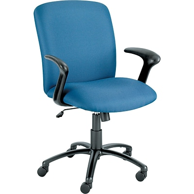Safco® Uber Big & Tall High-Back Chairs, Blue