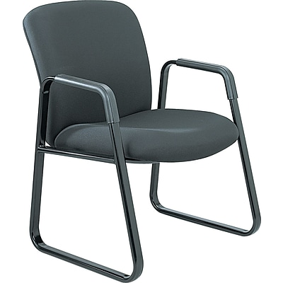 Safco® Uber™ Big and Tall Guest Chairs, Black