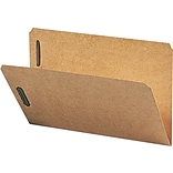 Smead Kraft Folders with Two 2 Capacity Fasteners, Legal, Straight Cut, 50/Bx