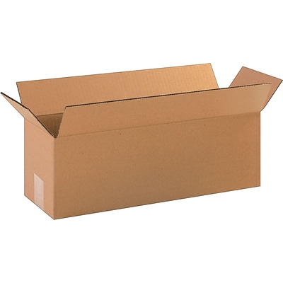 18(L) x 18(W) x 12(H) Shipping Boxes, Brown, 15/Bundle (60-181812)
