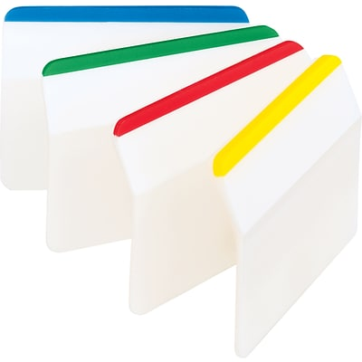 Post-It® Hanging File Folder Durable Tabs, Assorted Colors, Lined, 24 Tabs/Pack (686A1)