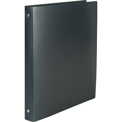 1/2 Simply Poly Binder with Round Rings, Graphite