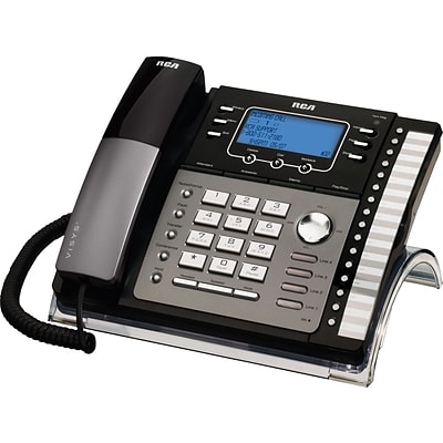 RCA 4-Line Business Speakerphone, With Digital Answering System