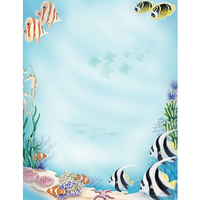 Great Papers® Sea Life Letterhead 80 count