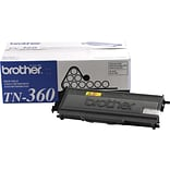 Brother® TN360 Black High Yield Laser Toner Cartridges, Multi-pack (2 cart per pack)