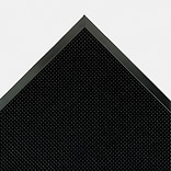 Crown Mat-A-Dor Rubber Entrance/Anti-Fatigue Mat, 72L x 36W, Black