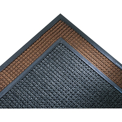 Crown Super-Soaker? Polypropylene Wiper/Scraper Mat, 119L x 34W, Dark Brown
