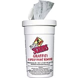 Scrubs® Graffiti & Spray Paint Remover Towels