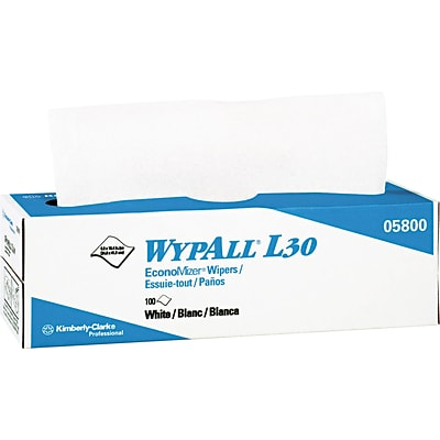 WypAll® L30 Wipers 100 Wipes/Box