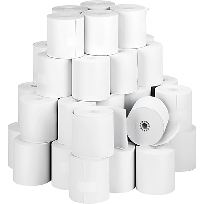 Self-Contained Financial Rolls, 1-Ply, 3 x 150, 50 Rolls/Ct