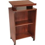 Regency Conference Collection Freestanding Lectern, Cherry, 44H x 24W x 18D