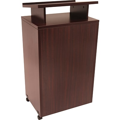 Regency Conference Collection Freestanding Lectern, Mahogany, 44H x 24W x 18D