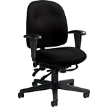 Global® Granada Low-Back Task Chair, Black